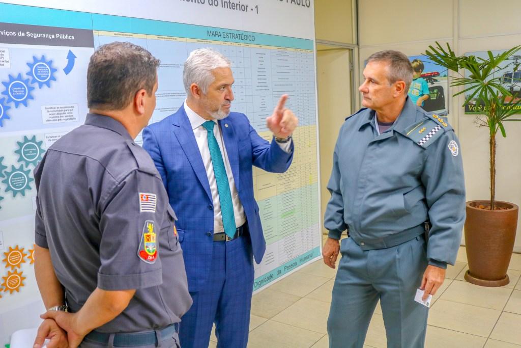 Milton Vieira discute segurança pública em Comandos de Policiamento Militar de São Paulo 10
