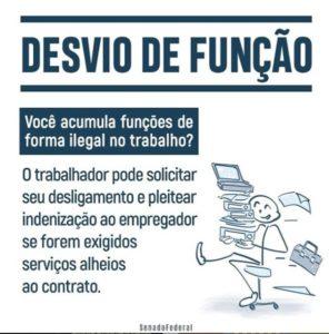 Desvio de Função | Deputado Federal Milton Vieira
