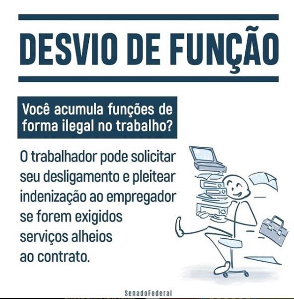 Desvio de Função   Deputado Federal Milton Vieira
