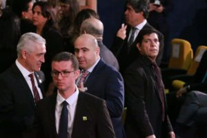 Milton Vieira e Bispo Eduardo Bravo prestigiam posse do novo Procurador Geral da República 2