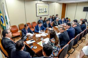 Milton Vieira participa de reunião da Bancada do Republicanos com membros do Grupo de Trabalho que analisou pacote Anticrime 2