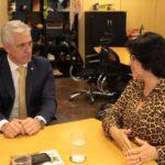 Milton Vieira discute proteção a Crianças e Adolescentes com ministra Damares Alves