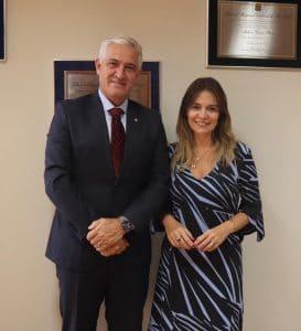 Milton Vieira recebe visita de nova presidente da APAMAGIS 1