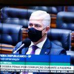 Milton Vieira vota sim ao Projeto que dobra penas por corrupção durante pandemia