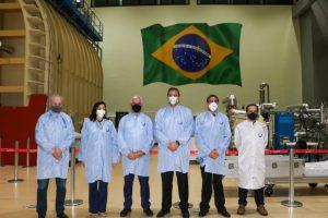 Milton Vieira visita o INPE para tratar do não desligamento do supercomputador Tupã 10
